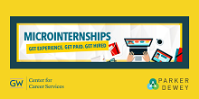 promotional image of information for employers on micro-internships