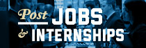 Post Jobs & Internships at GW