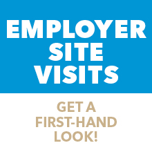 Employer Site Visits - Sign up in Handshake