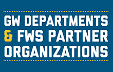 GW Departments and Federal Work Study Partner Organizations image