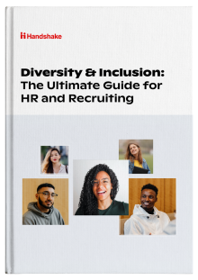 promotional image about a book called Diversity & Inclusion: The Ultimate Guide to HR and Recruiting