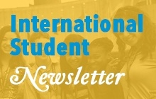 International Students Career Newsletter promo