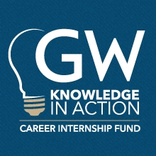 GW Knowledge in Action Career Internship Fund promo image