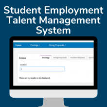 Post & Manage Student Positions