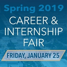 GW Spring 2019 Career and Internship Fair promo image