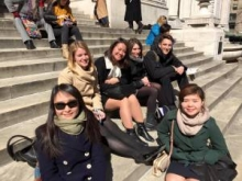 GW Career Quest NYC Spring 2015 Students Image