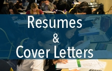 Write a resume and cover letter