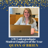 mage of Quinn O'Brien GW Undergraduate Student Employee of the Year