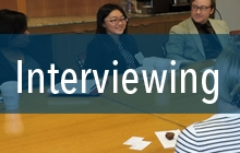 Learn how to develop and refine interviewing skills