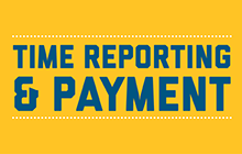 Time reporting and payment image